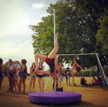 July Pole-in-Park